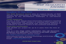 THE PASET REGIONAL SCHOLARSHIP AND INNOVATION FUND: Call for Proposals for