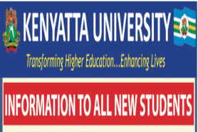 TO ALL NEWLY ADMITTED STUDENTS FOR  SEPTEMBER 2020/2021 INTAKES