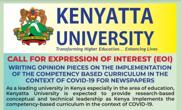 NEWSPAPER OPINION PIECES ON THE IMPLEMENTATION OF THE COMPETENCY BASED CURRICULUM IN THE CONTEXT OF COVID-19