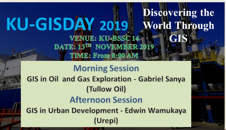 KU-GISDAY 2019 - GIS FOR THE BIG 4 AGENDA